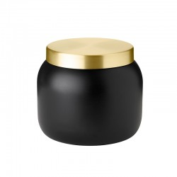 Ice Bucket 1,8lt – Collar Black And Gold - Stelton
