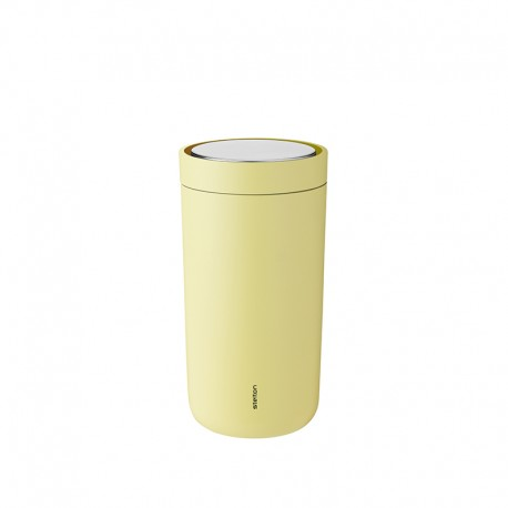 Thermal Cup Soft Yellow 200ml - To-Go Click - Stelton STELTON STT670-29