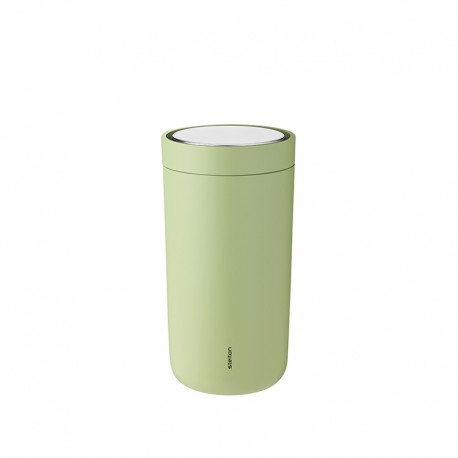 Thermal Cup Soft Green 200ml - To-Go Click - Stelton STELTON STT670-30