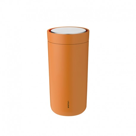 Thermal Cup Soft Orange 400ml - To-Go Click - Stelton STELTON STT680-28
