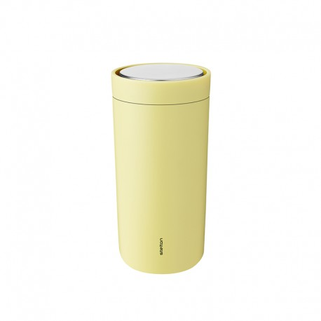 Thermal Cup Soft Yellow 400ml - To-Go Click - Stelton STELTON STT680-29