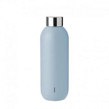 Garrafa de Água 600ml - Keep Cool Azul Nuvem - Stelton STELTON STT355-2