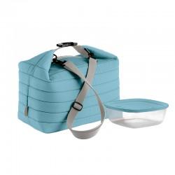 Set Saco Térmico e Recipiente L Azul Claro - Handy - Guzzini
