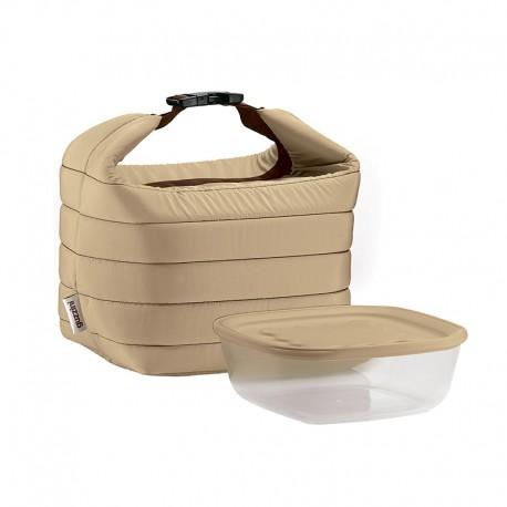 Thermal Bag and Airtight Container S Set Clay - Handy - Guzzini GUZZINI GZ03295079