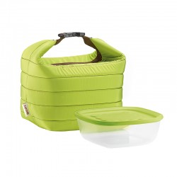 Thermal Bag and Airtight Container S Set Apple Green - Handy - Guzzini
