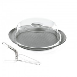 Cake Serving Set Grey - Feeling - Guzzini