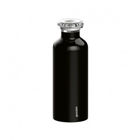 Thermal Travel Bottle 500ml - Energy Black - Guzzini GUZZINI GZ11670010