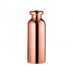 Thermal Travel Bottle 500ml - On The Go Golden Pink - Guzzini
