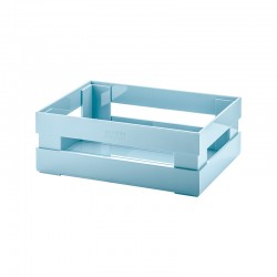 Medium Box Matt Blue - Tidy&Store - Guzzini