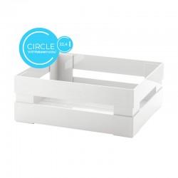 Caixa L Circle Branco - Tidy&Store - Guzzini