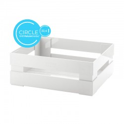 Large Box Circle White - Tidy&Store - Guzzini