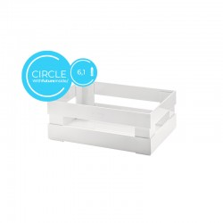 Small Box Circle White - Tidy&Store - Guzzini