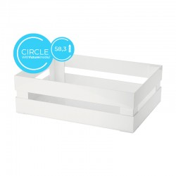 Cajoncito XL Circle Blanco - Tidy&Store - Guzzini