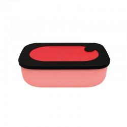 Fiambrera con Recipiente 900ml Rojo - Store&Go - Guzzini