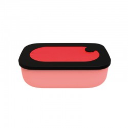 Lunch Box with Case 900ml Red - Store&Go - Guzzini