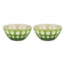 Set of 2 Bowls 12cm Sand/White/Green - Le Murrine Sand, White And Green - Guzzini GUZZINI GZ279412159