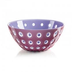 Bowl Ø25cm Mauve/White/Lilac - Le Murrine Mauve, White And Lilac - Guzzini