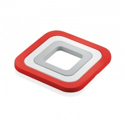 Set of 3 Trivets Red - Guzzini