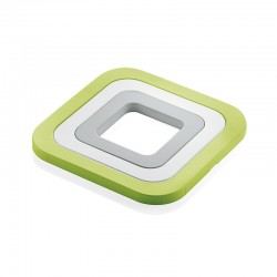Set of 3 Trivets Green - Guzzini