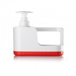 Sink Tidy with Soap Dispenser Red - Guzzini