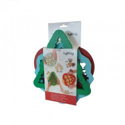Kit 3 Cookies Cutters Surtido - Lekue LEKUE LK0200103SURM017
