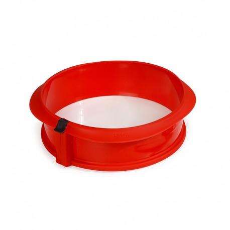 Springform ø23cm with Ceramic Plate Red - Lekue LEKUE LK2412323R01M017