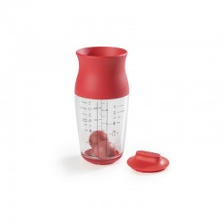 Shaker para Massas - 700ml Vermelho - Lekue