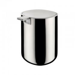 Dispensador de Sabonete Líquido Inox – Birillo Branco E Inox - Alessi ALESSI ALESPL05
