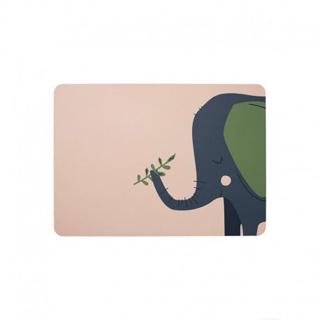 Placemat Emma Elephant - Kids - Asa Selection ASA SELECTION ASA78810420