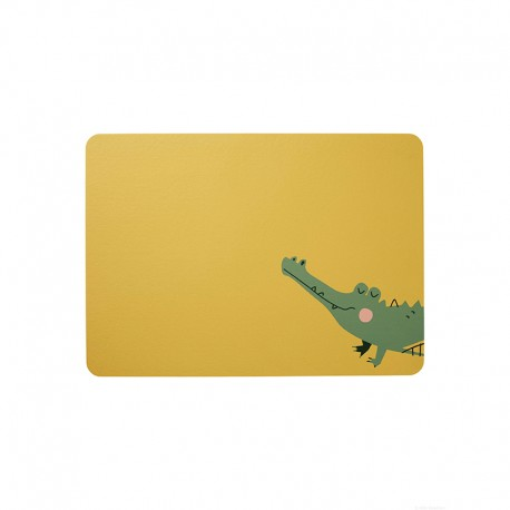 Placemat Croco Crocodile - Kids - Asa Selection ASA SELECTION ASA78811420