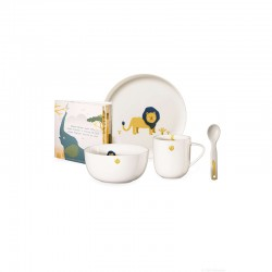 Set of 5 Pcs Tableware Leo Lion - Kids - Asa Selection ASA SELECTION ASA38952314