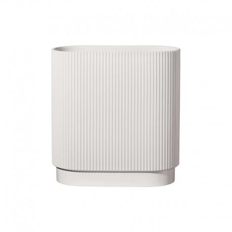 Vase 34,5cm Oval White - Artdeco - Asa Selection ASA SELECTION ASA63017091