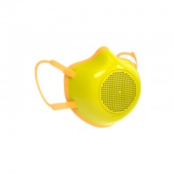 Máscara de Proteção Ecológica Adulto Amarelo - Eco-Mask - Guzzini Protection GUZZINI protection GZ10890056