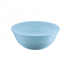 XL Bowl with Lid Blue - Tierra - Guzzini