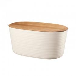 Bread Box with Lid White - Tierra - Guzzini