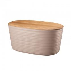 Bread Box with Lid Taupe - Tierra - Guzzini