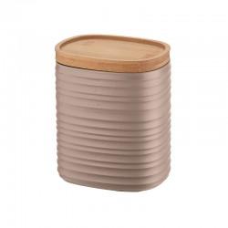 Storage Jar Medium Taupe - Tierra - Guzzini