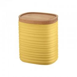 Storage Jar Medium Yellow - Tierra - Guzzini
