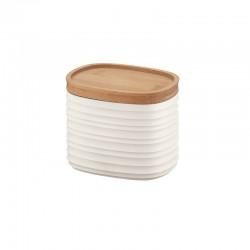 Storage Jar Small White - Tierra - Guzzini