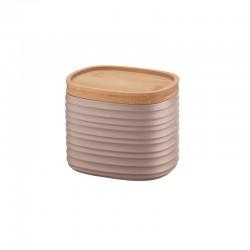 Storage Jar Small Taupe - Tierra - Guzzini