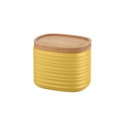 Storage Jar Small Yellow - Tierra - Guzzini