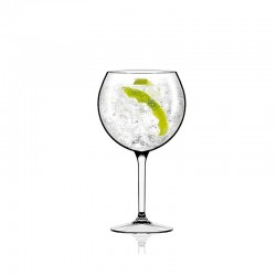 Set of 8 Gin Tonic Glasses - Air Beach Clear - Italesse