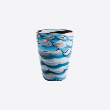 Set of 6 Tumbler Glass Napolean Fish - Mares - Italesse ITALESSE ITL3355NF