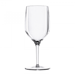 Set of 6 Wine Glasses Clear - Vertical Beach - Italesse