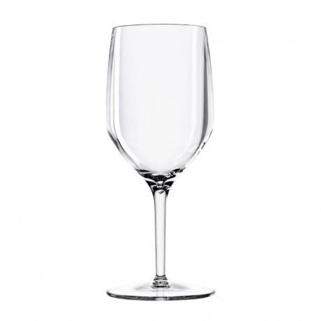 Set of 6 Wine Glasses Clear - Vertical Beach - Italesse ITALESSE ITL3930TR