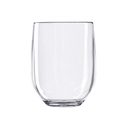 Tumbler Glass Clear - Vertical Party Beach - Italesse