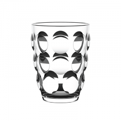Tumbler Glass Clear - Bolle Beach - Italesse
