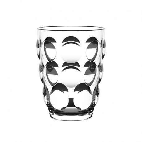Set of 6 Tumbler Glasses Clear - Bolle Beach - Italesse ITALESSE ITL3941TR