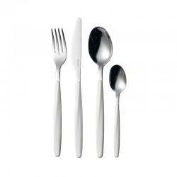 24-Piece Cutlery Set White - My Fusion - Guzzini