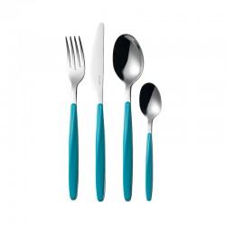 24-Piece Cutlery Set Blue - My Fusion - Guzzini